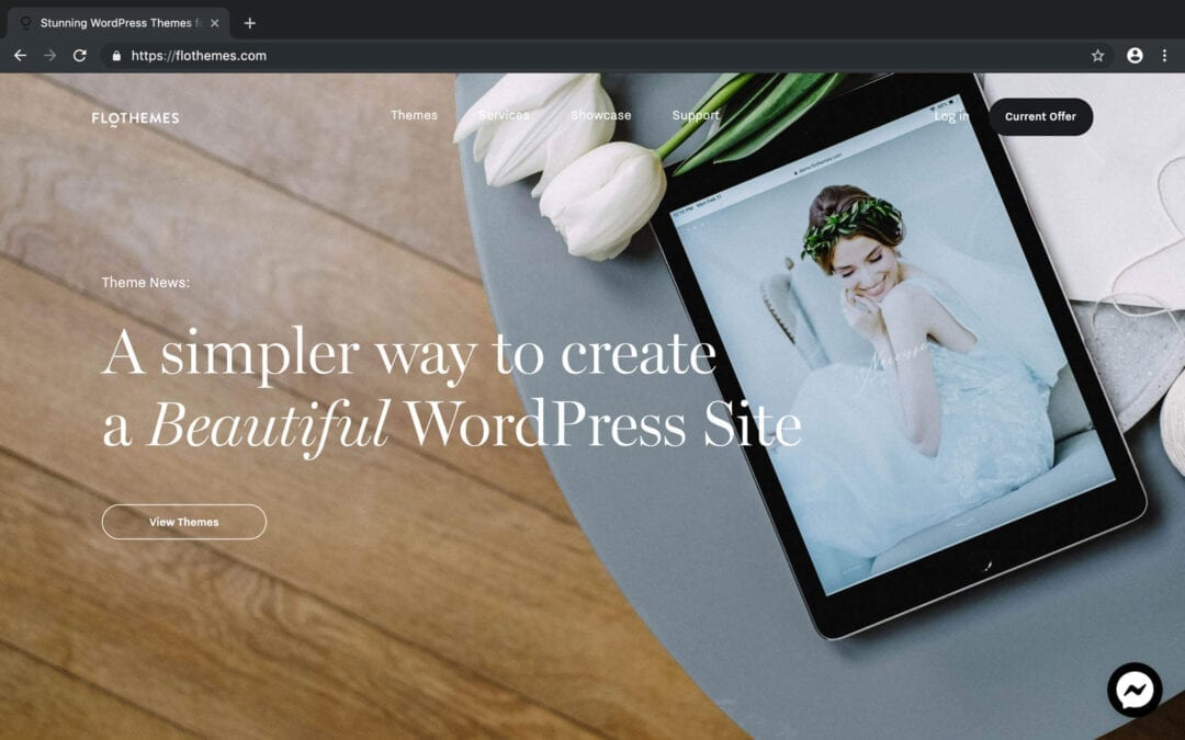 Flothemes | The Best Way to Build Your Photography Website